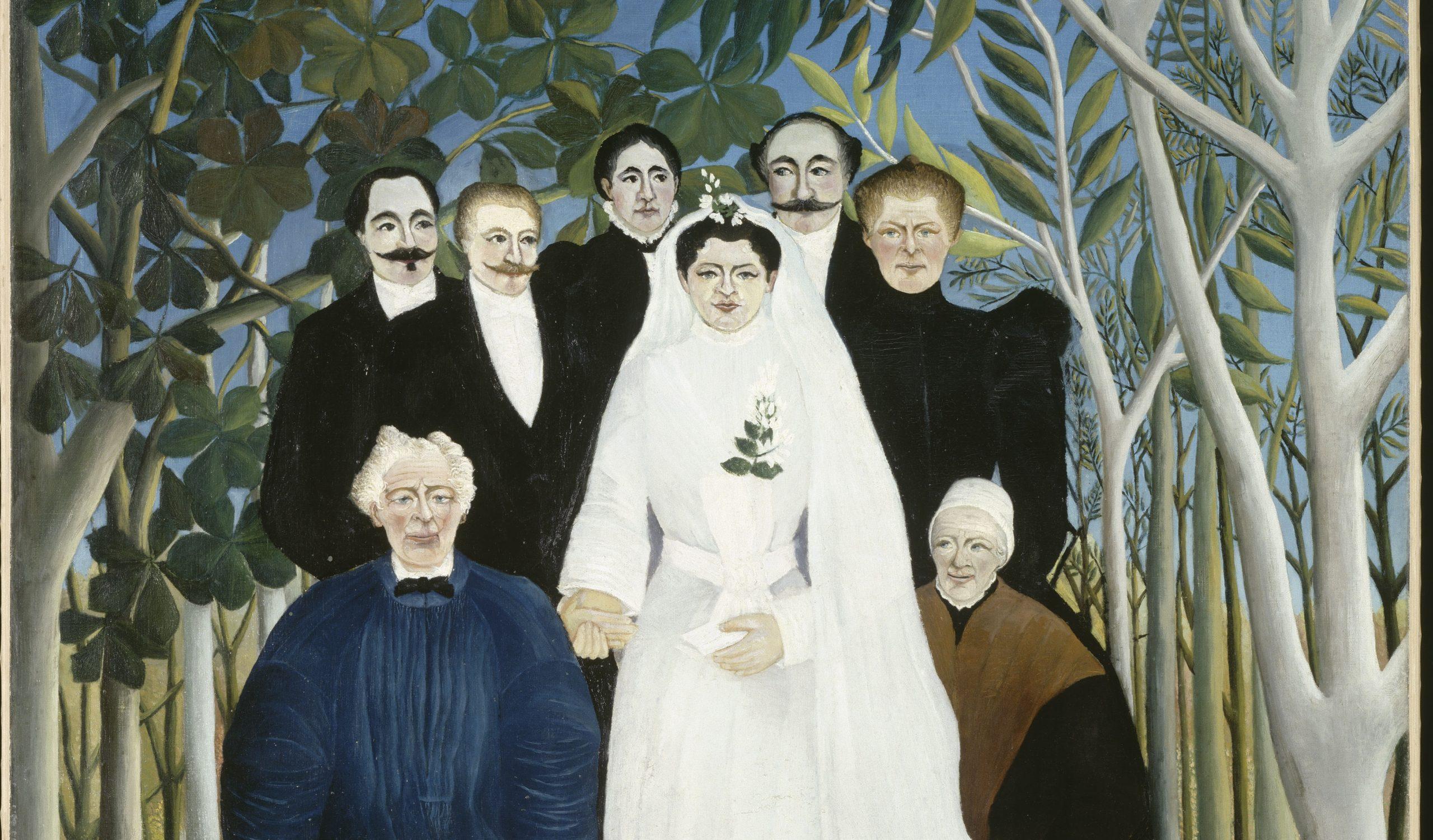 7 Henri Rousseau. La Noce. 1905. Oil on canvas. Musee de L'Orangerie. Paris 1 scaled