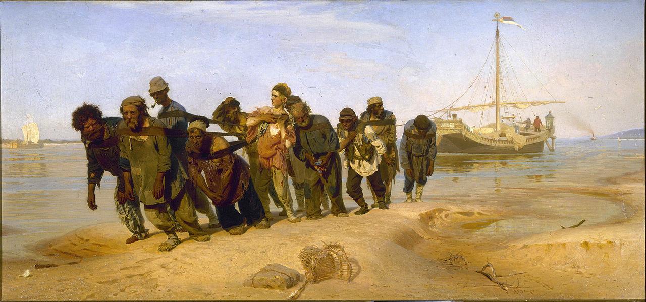 1280px Ilya Repin Barge Haulers on the Volga